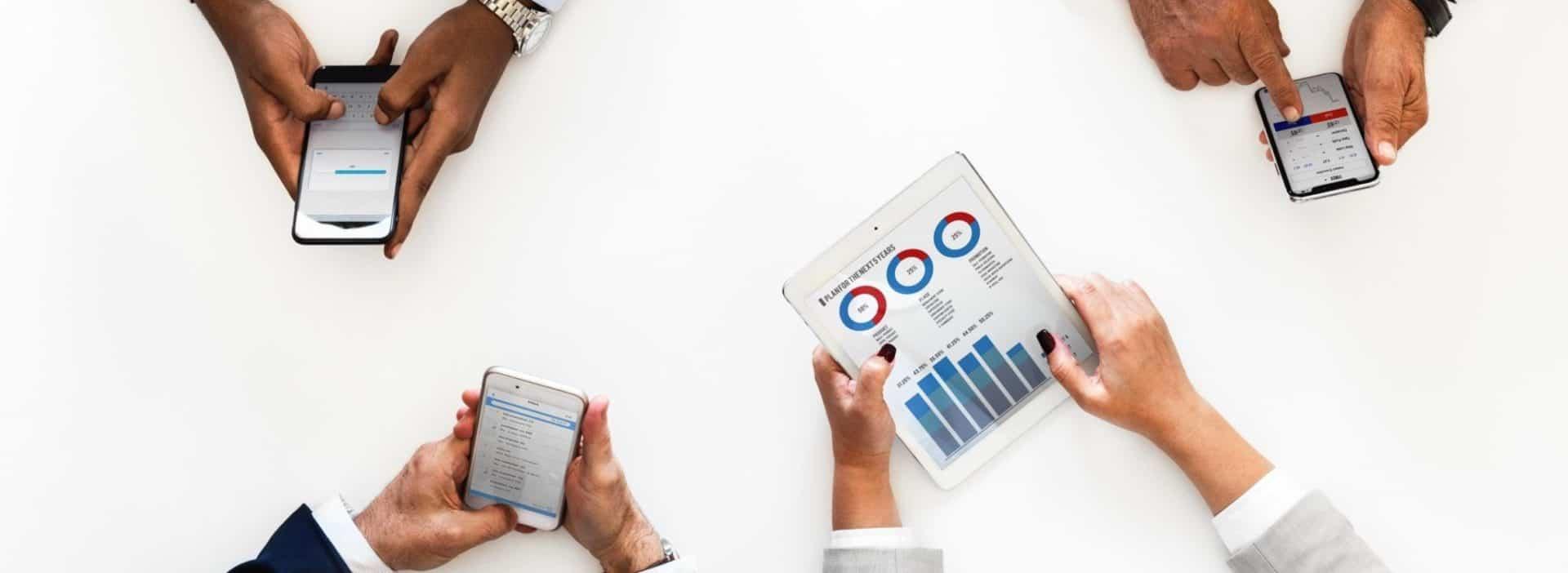 Online marketing op mobiele apparaten